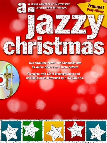 9781849381277: A Jazzy Christmas Trumpet Tpt Book/Cd