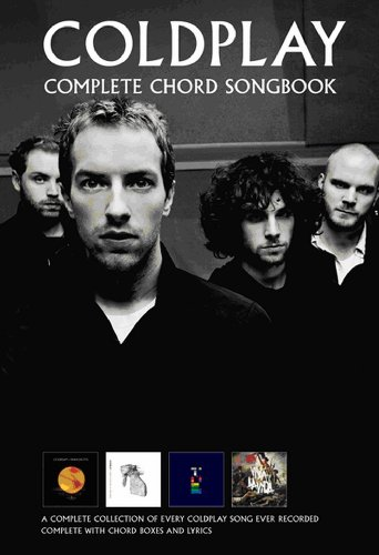 9781849381444: Coldplay Complete Chord Songbook (Rev. 2009)