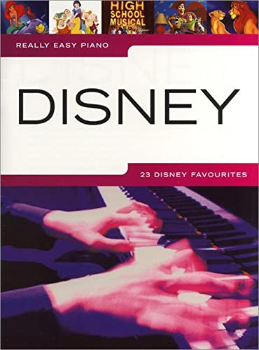9781849381772: Really easy piano disney