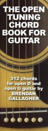 9781849382021: Brendan Gallagher The Open Tuning Chord Book For Guitar Gtr