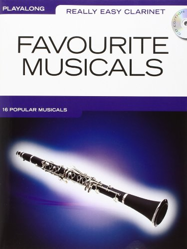 9781849382182: Really Easy Clarinet Favourite Musicals (Book & CD)