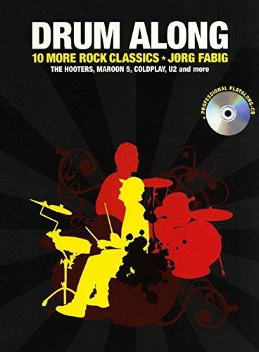 9781849382267: Drum Along 10 More Rock Classics Drums Book/Cd