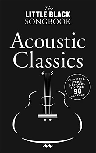 9781849382298: Little Black Songbook Acoustic Classics.