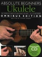 9781849382755: Absolute Beginners Ukulele - Omnibus Edition (Book & CD)