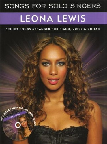 9781849383844: Songs for Solo Singers: Leona Lewis