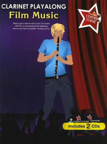 Film Music (+2 CD's) : for clarinet