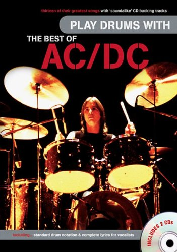Play Drums With The Best Of Ac/Dc (Book & 2 Cds): Ac/Dc