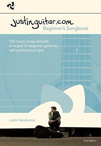 9781849386685: The Justinguitar.Com Beginner's Songbook (Easy Guitar With Notes & Tab)