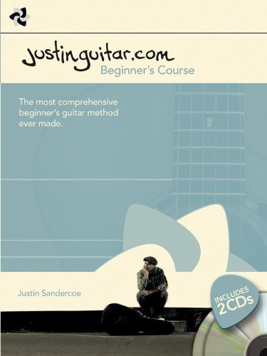 9781849386692: Justinguitar.Com Beginner's Guitar Course (Book & 2 Cds)