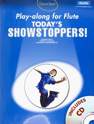 9781849386746: Guest Spot Playalong For Flute: Today's Showstoppers