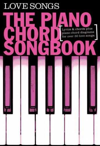 9781849386968: Piano Chord Songbook Love Songs For Piano