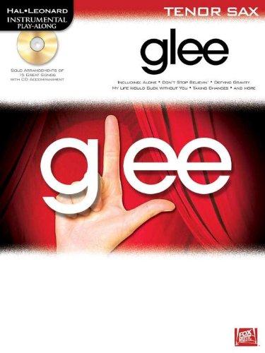 9781849387118: Instrumental Play-along: Glee (Tenor Saxophone)