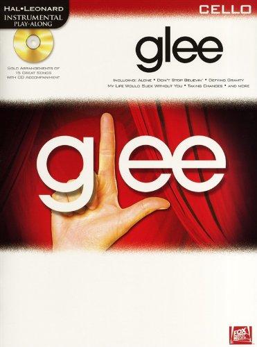9781849387170: Instrumental Play-Along Glee Cello Book/Cd