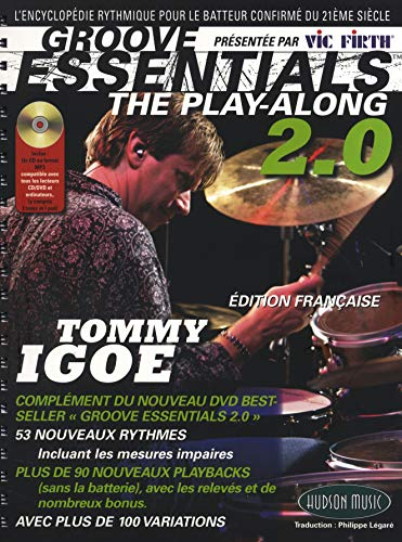 9781849388467: Igoe Tommy Groove Essentials Play-Along Drums 2.0 CD (ed. Française)