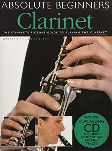 9781849389181: Absolute Beginners Clarinet (Bk/Cd)