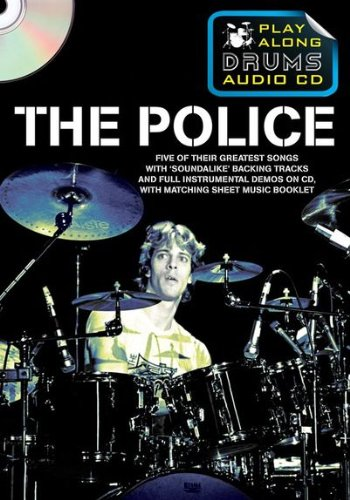 Police Play Along Drums Audio CD (Format Boitier DVD): Police