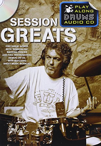Play Along Drums Audio CD: Session Greats: Wise Publications