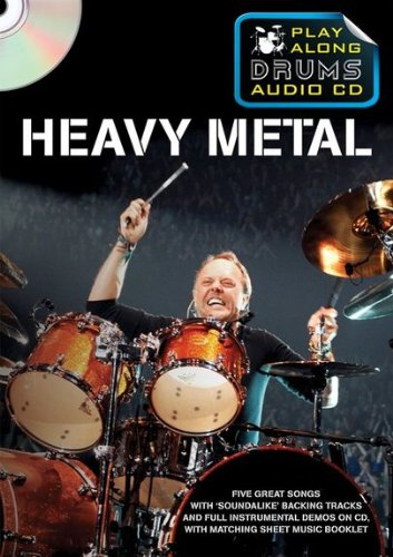 9781849389389: Play Along Drums Audio CD: Heavy Metal