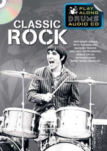 9781849389402: Play Along Drums Audio CD: Classic Rock
