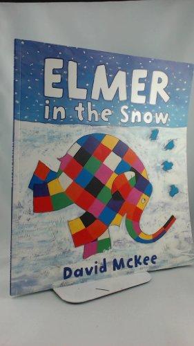 9781849391351: Elmer in the Snow