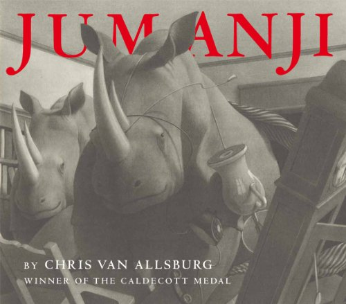 9781849394215: Jumanji. Chris Van Allsburg