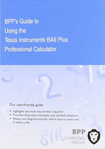 9781849428743: CFA Navigator - Texas Instruments BAII Plus Calculator Guide