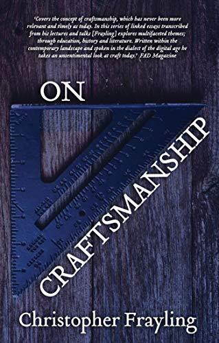 9781849430722: On Craftsmanship: Towards a New Bauhaus