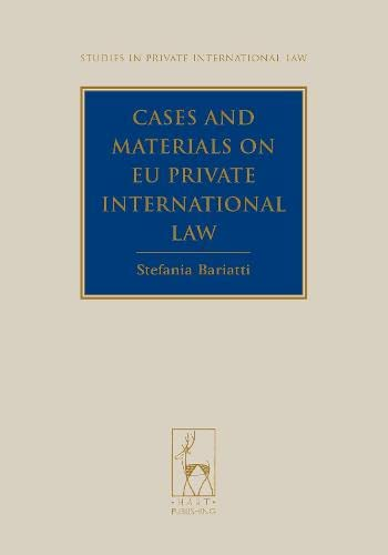 9781849460279: Cases and Materials on EU Private International Law (Studies in Private International Law)