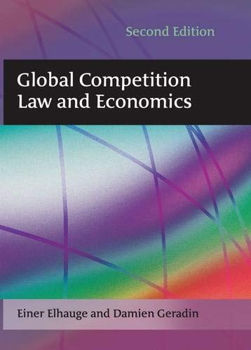 9781849460446: Global Competition Law and Economics