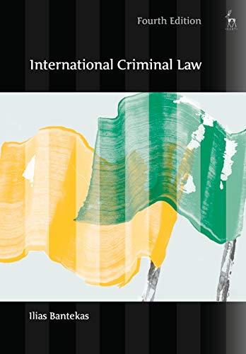 9781849460453: International Criminal Law