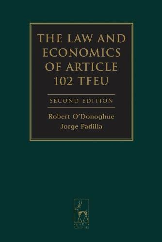 9781849461399: The Law and Economics of Article 102 TFEU: Second Edition