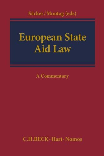 9781849461900: European State Aid Law: A Commentary