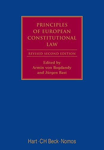 9781849462112: Principles of European Constitutional Law