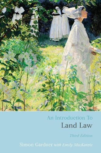 9781849462365: An Introduction to Land Law: Third Edition