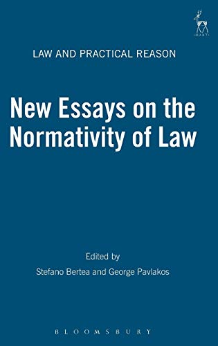 9781849462389: New Essays on the Normativity of Law (Law and Practical Reason)