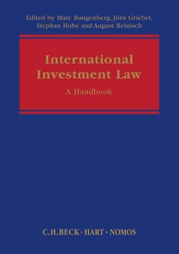 International Investment Law: A Handbook (Hardback)