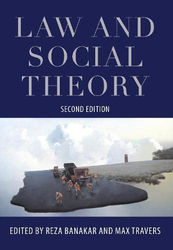 9781849463812: Law and Social Theory: Second Edition
