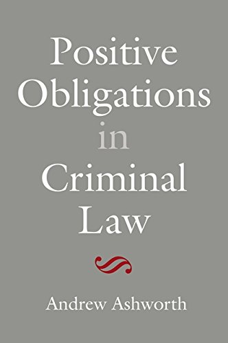 9781849465052: Positive Obligations in Criminal Law