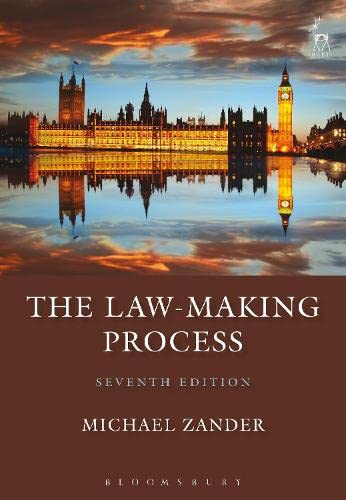 9781849465625: The Law-Making Process: Seventh Edition