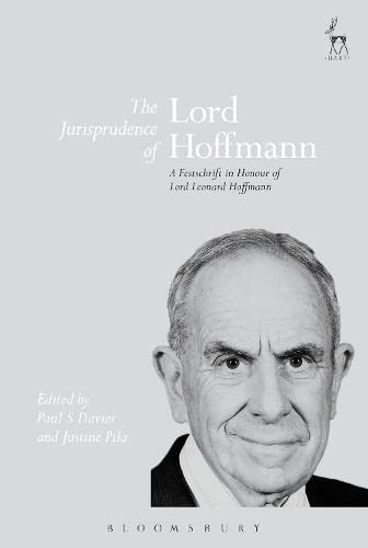 The Jurisprudence of Lord Hoffmann: A Festschrift: Hart Publishing