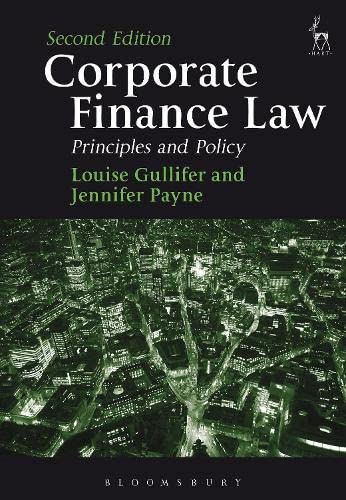 9781849466004: Corporate Finance Law: Principles and Policy (Second Edition)