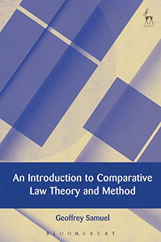 9781849466431: An Introduction to Comparative Law Theory and Method (European Academy of Legal Theory Series)