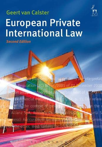 9781849466721: European Private International Law