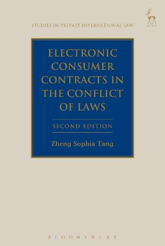 9781849466912: Electronic Consumer Contracts in the Conflict of Laws: Second Edition (Studies in Private International Law)
