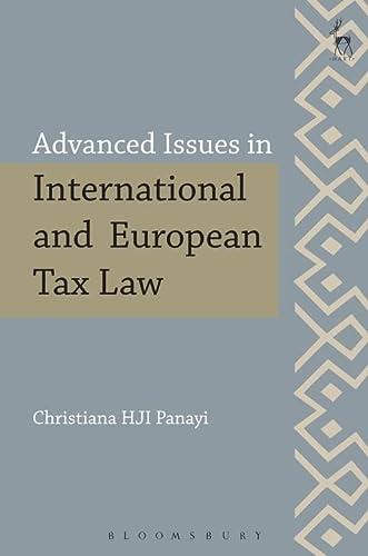Advanced Issues in European and International Tax Law: Panayi Christiana H J I