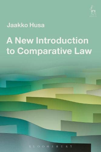 A New Introduction to Comparative Law: Jaakko Husa
