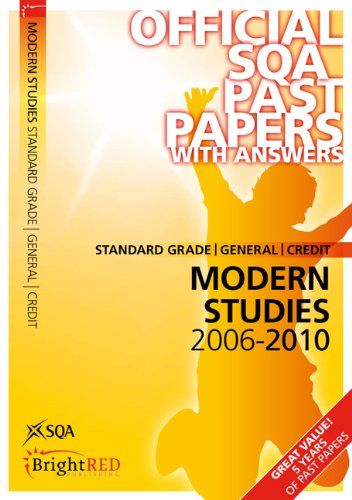 Modern Studies Standard Grade (G/C) SQA Past Papers: SQA