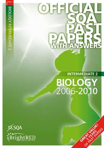 9781849481175: Biology Intermediate 2 2010 SQA Past Papers
