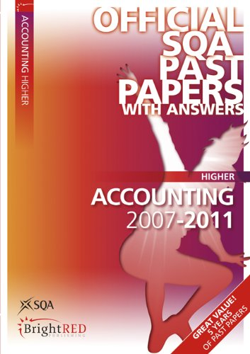 9781849482073: Accounting Higher Sqa Past Papers 2011