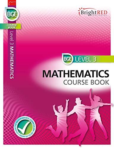 9781849483179: BGE Level 3 Mathematics Course Book (Bright Red)